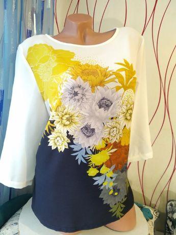 Новая красивейшая блуза М