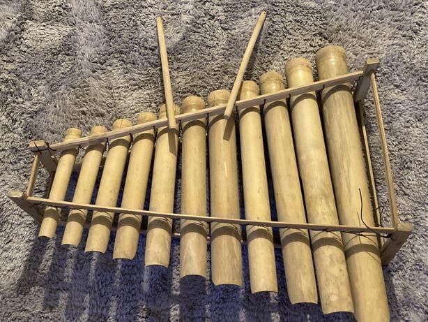 Xilofone madeira artesanal