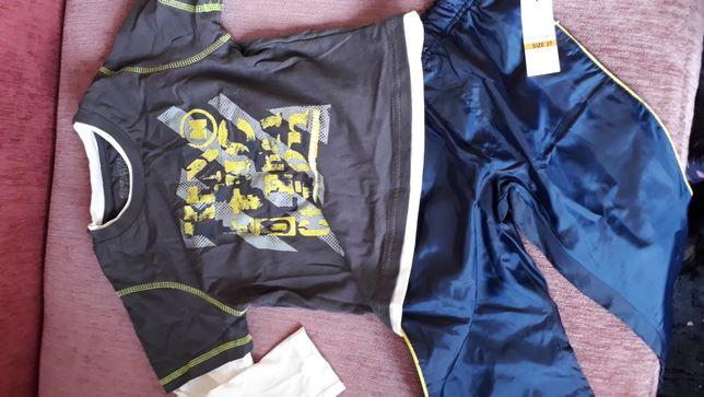 Реглан и штаны на подкладке на 3-4 года Kenneth Cole США next chicco