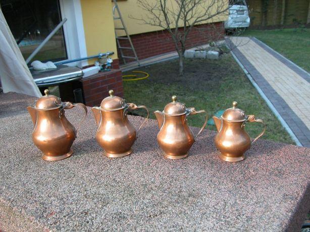 czajniki - dzbanki z miedzi kolekcja