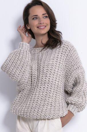 Sweter Fobya wełna alpaka