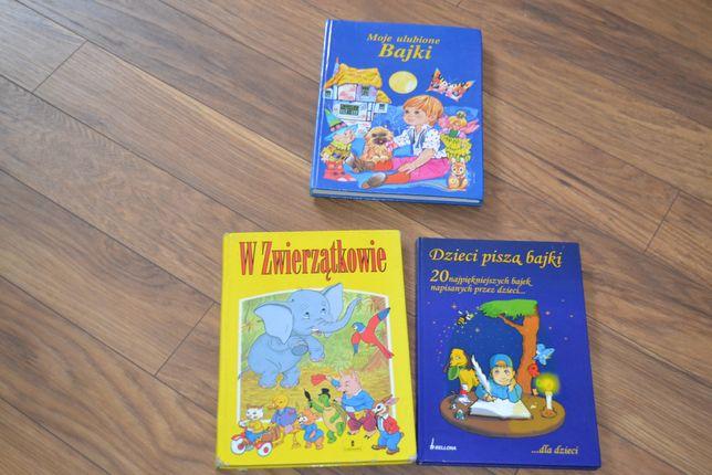 Książki dla dzieci w twardych okładkach- rózne