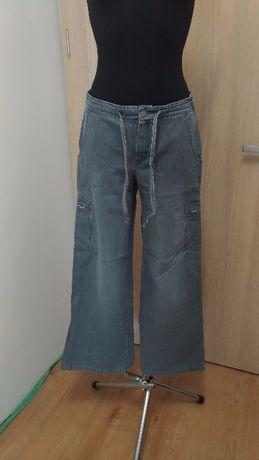 A05 Spodnie damskie szare helline 38