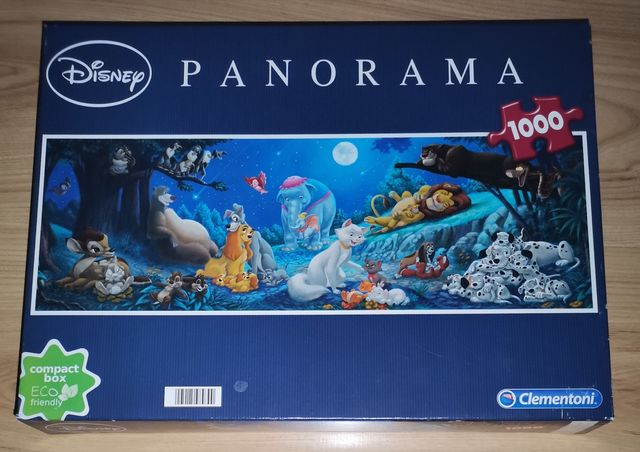 Puzzle 1000 elementów. Disney (wysyłka gratis)