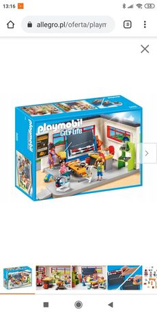 Sala lekcyjna Playmobil
