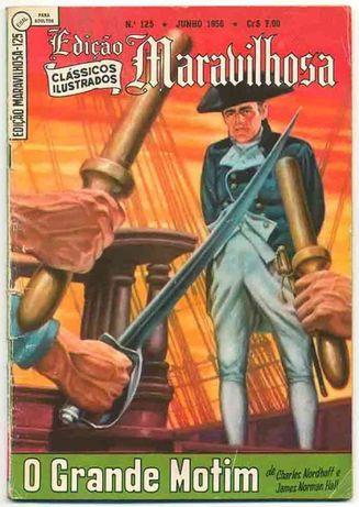BD Banda Desenhada Edição Maravilhosa 125 - O grande motim (Bounty)