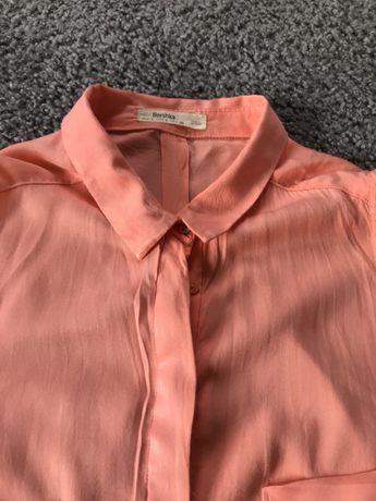 Bluzka w kolorze koralowym Bershka