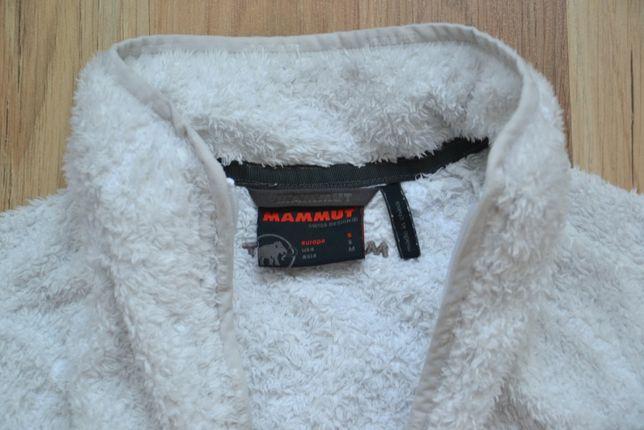флисовая кофта флиска Mammut S белая