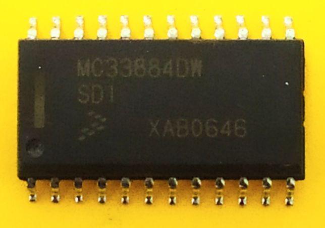 Мікросхема MC33884DW 33884 mc33884 SOP-24