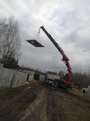 Zbiornik Betonowy Na Deszczówkę Kanał Samochodowy Szambo Na Gnojówkę
