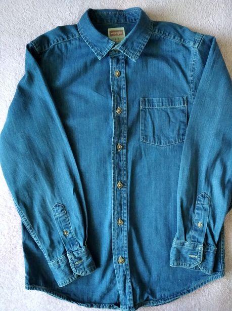 Джинсовая рубашка 10-12 лет