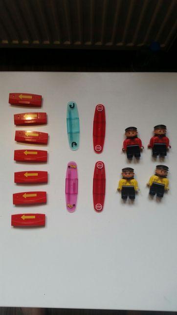 Lego duplo nakładki kierunku jazdy lokomotywa kolejka pociąg
