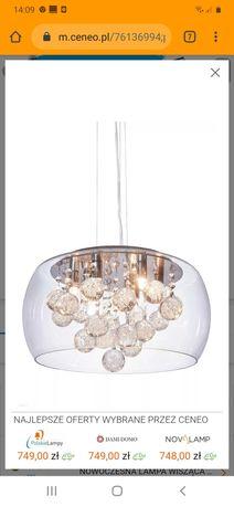 nowoczesna lampa wiszaca FABINA D40