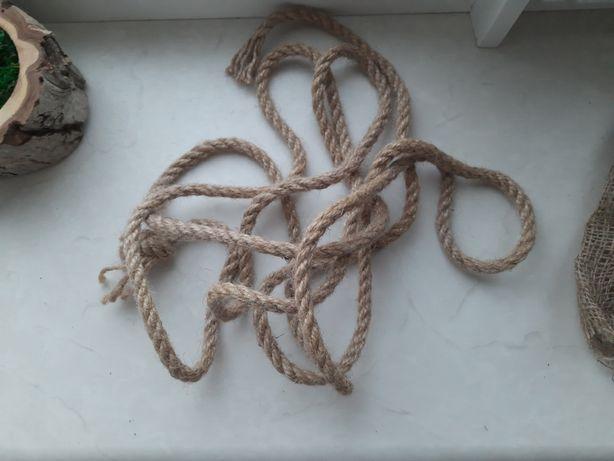 Веревка джут джутовый канат 3 м