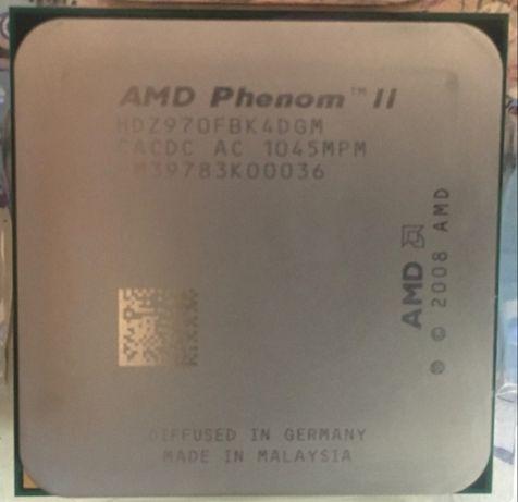 Процессор  AMD Phenom ll x4 970