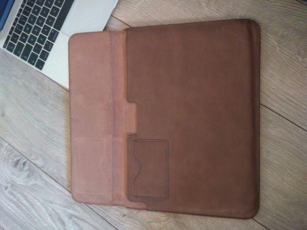 Кожаный чехол на Macbook 12
