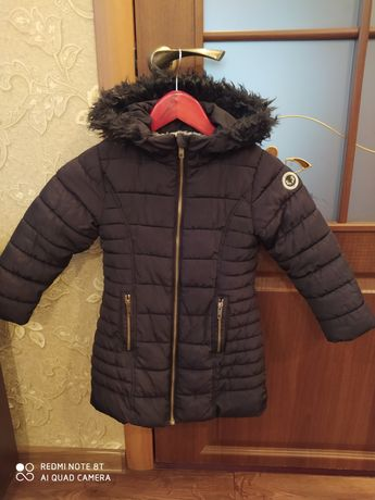 Зимняя куртка на девочку. Р-110