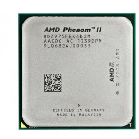 Продам процесор AMD Phenom II X4 975 Black Edition