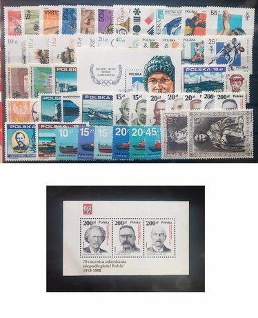 Znaczki pocztowe Rocznik1988czysty,pelny
