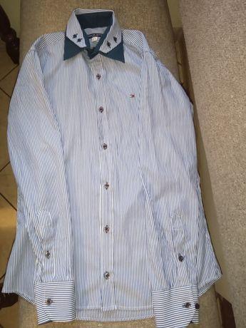 Elegancka męska koszula w paski