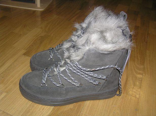 Ботинки зимние Reserved женские угги сапожки