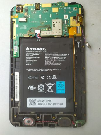 Разбираю планшет samsung P3100, P3110. Lenovo A3000.