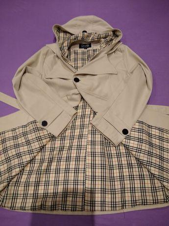 Płaszcz damski prochowiec Dolce Gabbana Blueberry