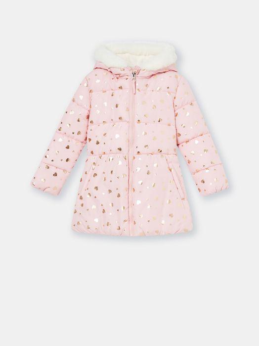Курточка для девочки демисезон осенняя куртка розовая золото фирменная Украинка - изображение 1