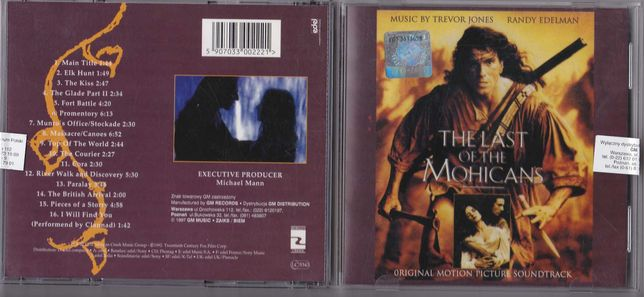 The Last Of The Mohicans - Soundtrack