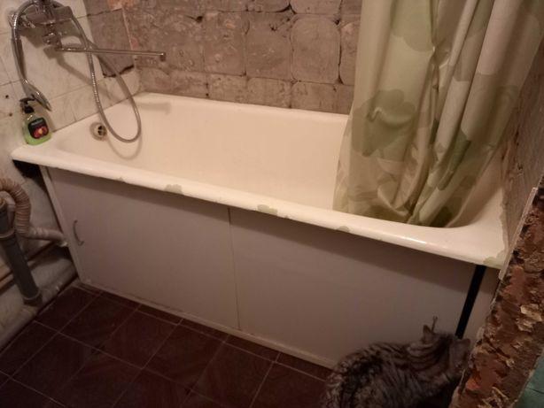 Продам чугунную ванну