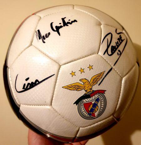 Bola Benfica Autografada p/ Jogadores