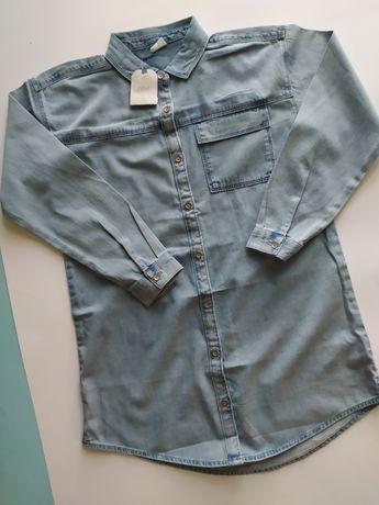 Nowa koszula jeansowa Next 140 cm