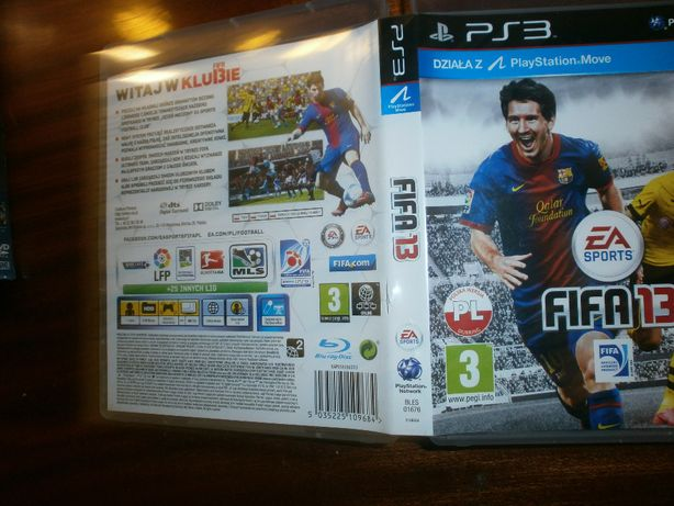 3 gry playstation 3 FIFA13-Sport champion-Need for speed + BONUS DVD
