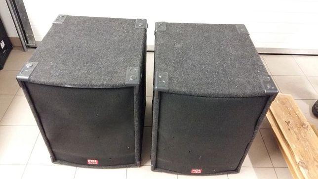 Głośniki Kolumny Subbasy Pol Audio 2x 800W 8Ohm