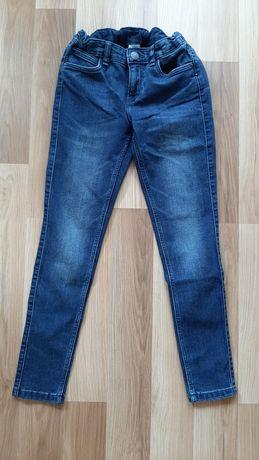 Spodnie jeansy dżinsowe