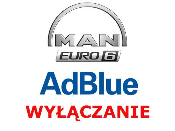 Wyłączanie AdBlue SCR MAN TGX TGM TGL Euro 5 Euro 6