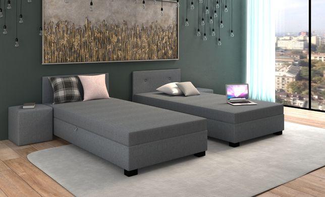 Łóżko jednoosobowe tapczan sofa kanapa pojemnik materac SZYBKA DOSTAWA