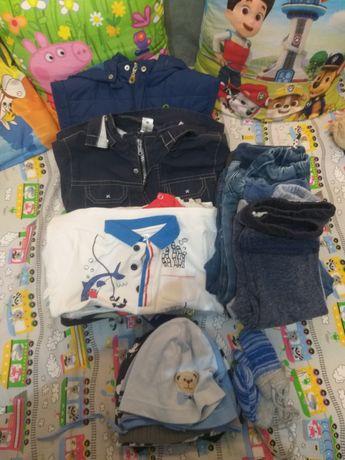 Paczka ubrań dla chłopca r. 86 do 98
