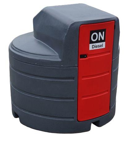 Zbiornik na paliwo dwupłaszczowy 2500L - cena z dostawą