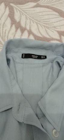 Блуза блакитна розмір м