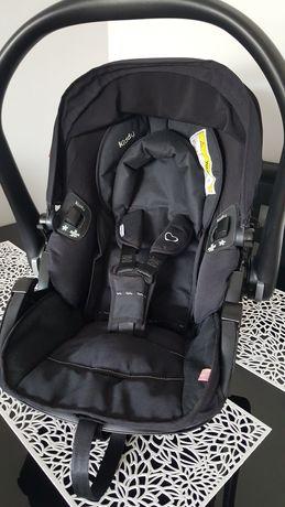 Fotelik nosidełko Kiddy Evolution Pro 2 czarny