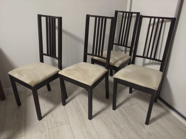 Krzesła Ikea komplet czarny