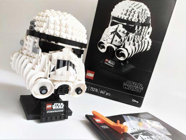 Lego Star Wars 75276 Шлем штурмовика (100% полный) звездные войны