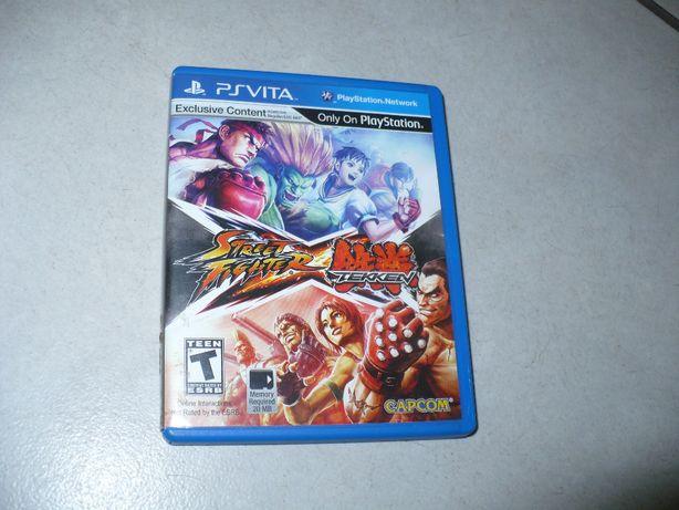 Na PsVita,,Street Fighter X Tekken''