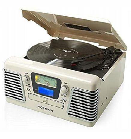 Ricatech RMC100 gramofon retro USB/SD/CD/MP3