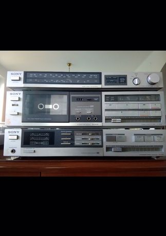 Wieża SONY z gramofonem vintage! Kolekcjonerska