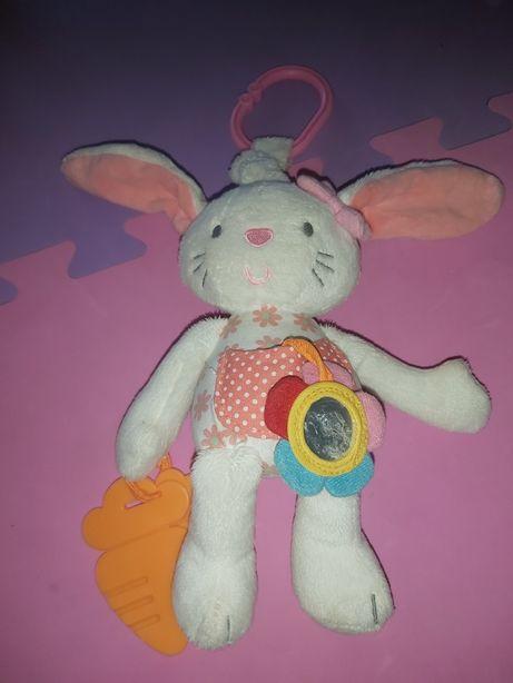 Зайчик на коляску кроватку автокресло заяц зайка кролик