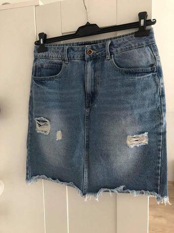 Spódniczka jeansowa House