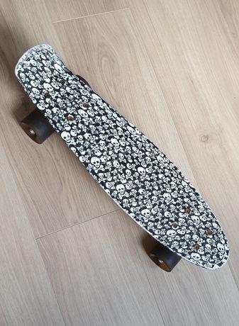 Скейт Penny board, колеса світяться