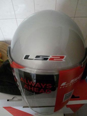 Capacete LS2 novo(L)